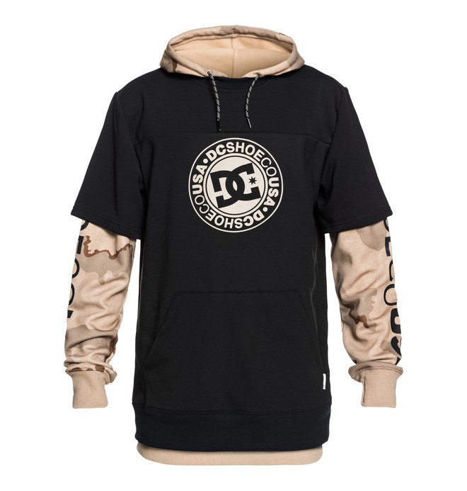 0 Dryden - Technical Hoodie for Men Black EDYFT03363 DC Shoes