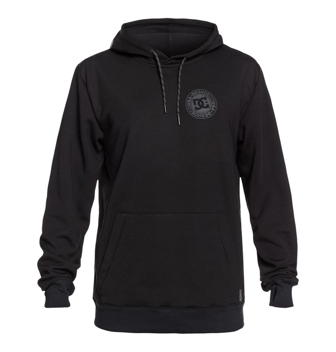 0 Snowstar Technical Hoodie Black EDYFT03366 DC Shoes