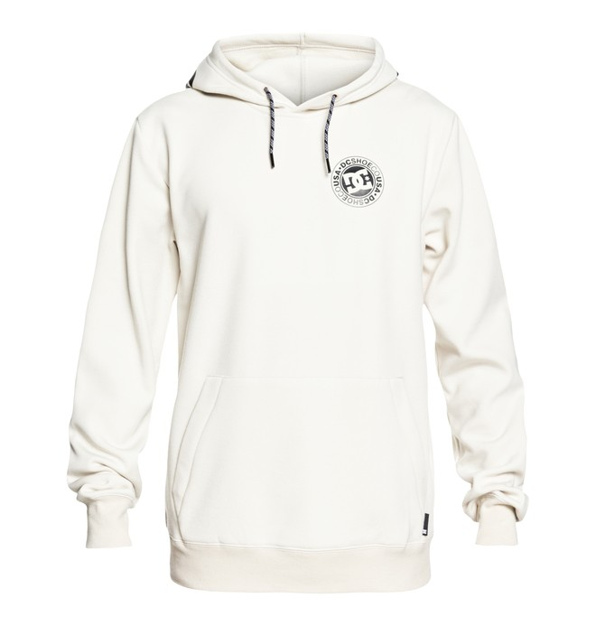 0 Snowstar Technical Hoodie White EDYFT03366 DC Shoes
