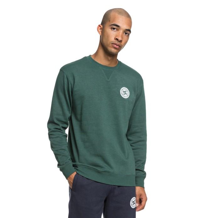 0 Rebel - Sweatshirt pour Homme Vert EDYFT03392 DC Shoes