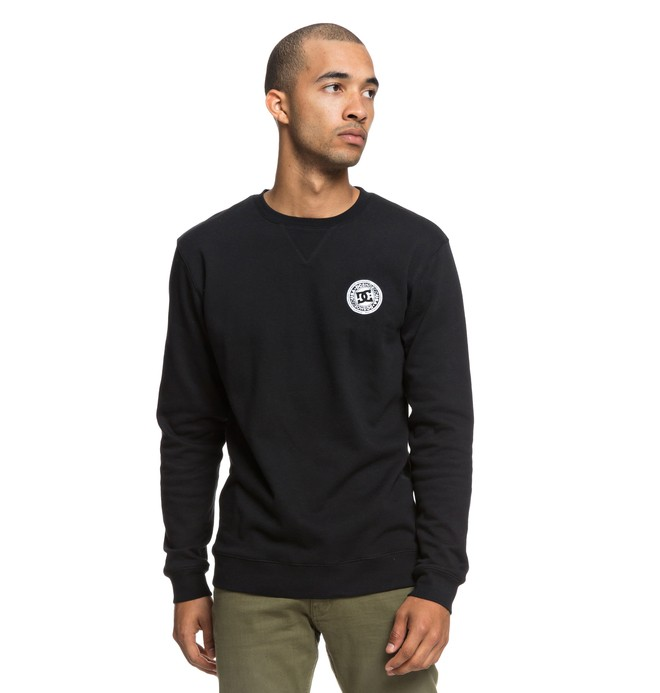 0 Rebel Sweatshirt Black EDYFT03392 DC Shoes