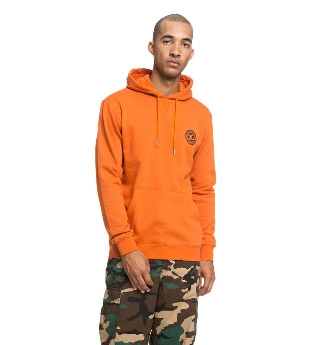 0 Rebel - Sudadera con capucha para Hombre Naranja EDYFT03394 DC Shoes