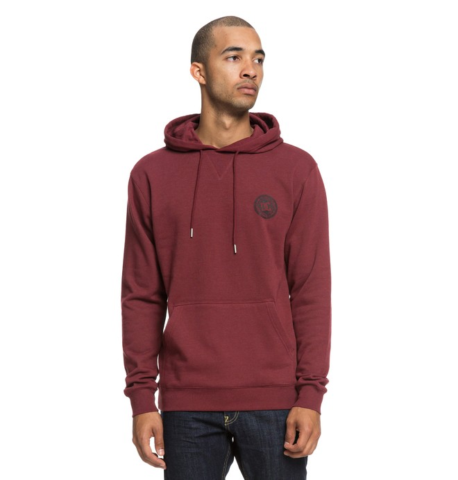0 Rebel Hoodie Red EDYFT03394 DC Shoes