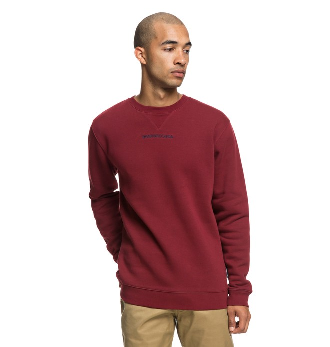 0 Craigburn Sweatshirt Red EDYFT03397 DC Shoes