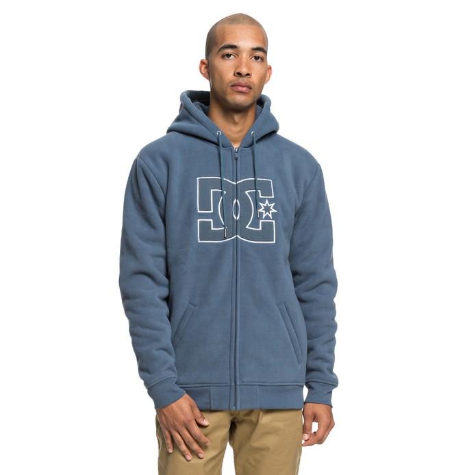 0 New Star Sherpa - Sweat à capuche zippé pour Homme Bleu EDYFT03399 DC Shoes