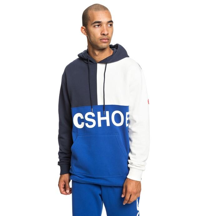 0 Hambledon - Sweat à capuche pour Homme Bleu EDYFT03423 DC Shoes