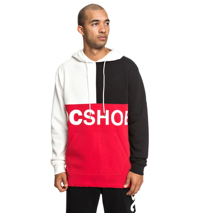 0 Hambledon - Sweat à capuche pour Homme Rouge EDYFT03423 DC Shoes