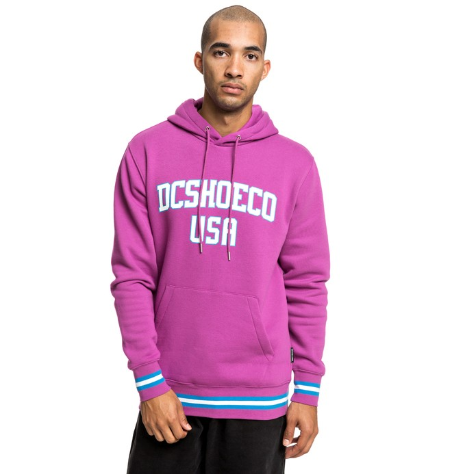 0 Glenridge - Sweat à capuche pour Homme Rose EDYFT03428 DC Shoes