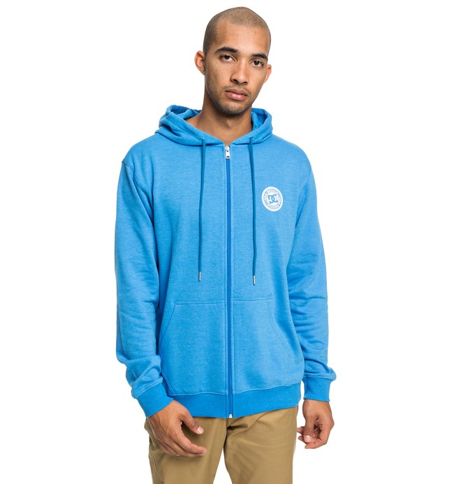 0 Rebel - Sweat à capuche zippé pour Homme Bleu EDYFT03434 DC Shoes