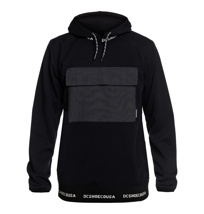 0 Commuter - Packable Water-Resistant Hoodie Black EDYFT03441 DC Shoes