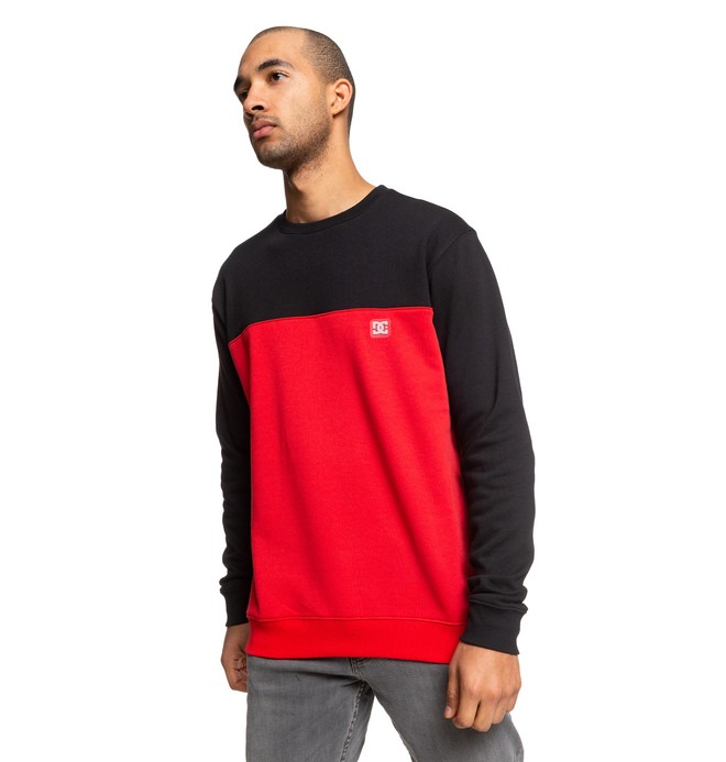 0 Rebel - Sweat pour Homme Noir EDYFT03456 DC Shoes