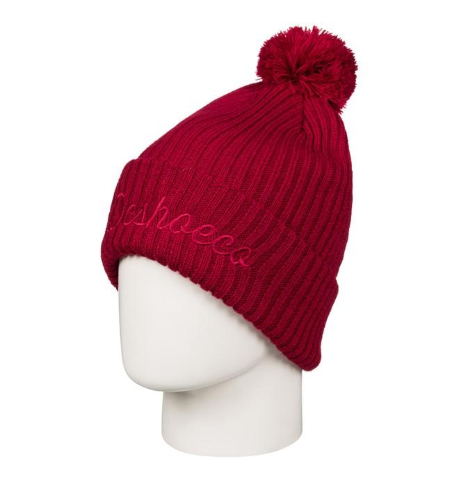 0 Trilogy - Bobble Hat for Men Red EDYHA03050 DC Shoes
