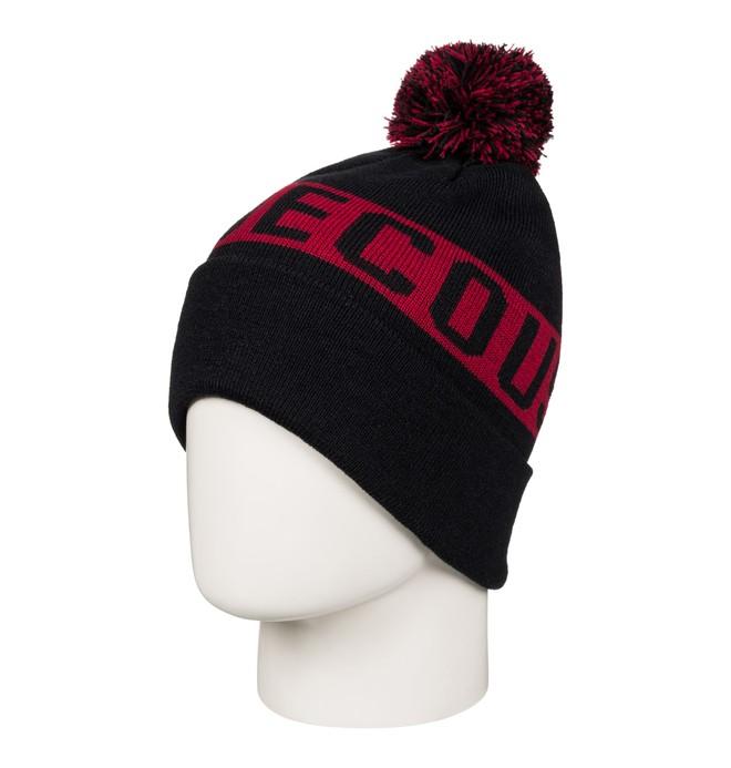 0 Chester - Bobble Hat for Men Black EDYHA03057 DC Shoes