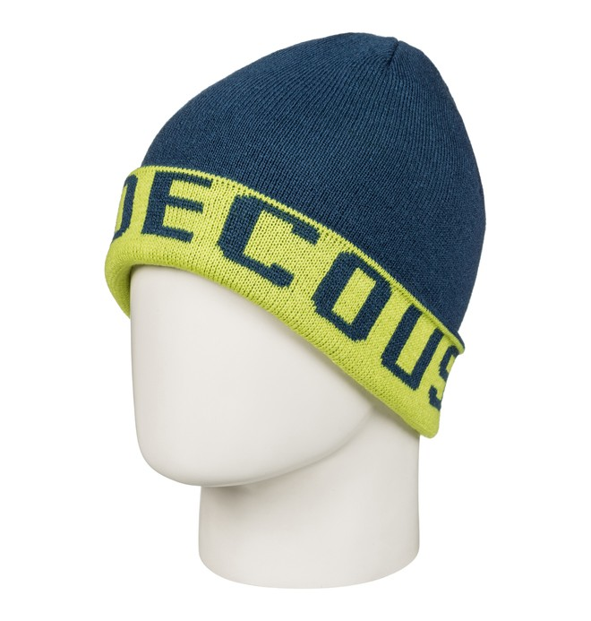 0 Bromont - Reversible Cuff Beanie for Men Green EDYHA03058 DC Shoes