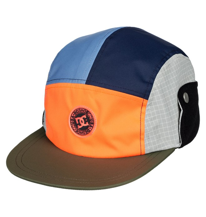 0 Boondocks - Camper Cap Orange EDYHA03106 DC Shoes