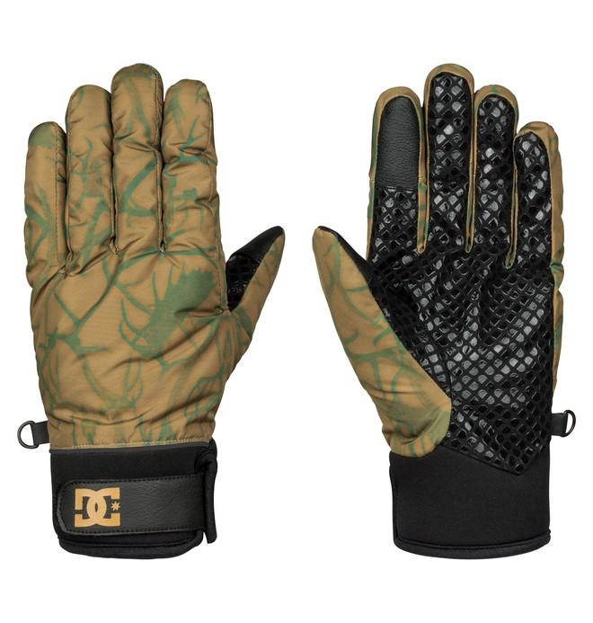 0 Radian - Snow Gloves Brown EDYHN03013 DC Shoes