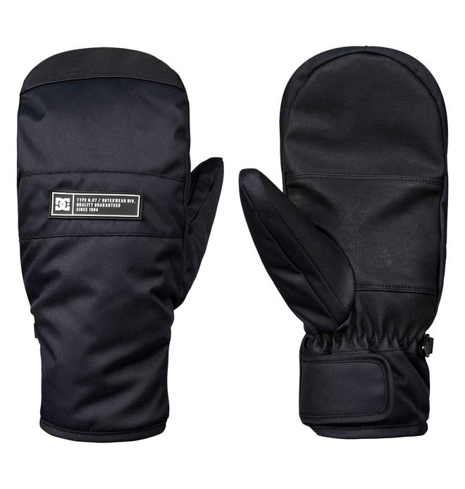 0 Franchise Snowboard/Ski Mittens Black EDYHN03035 DC Shoes