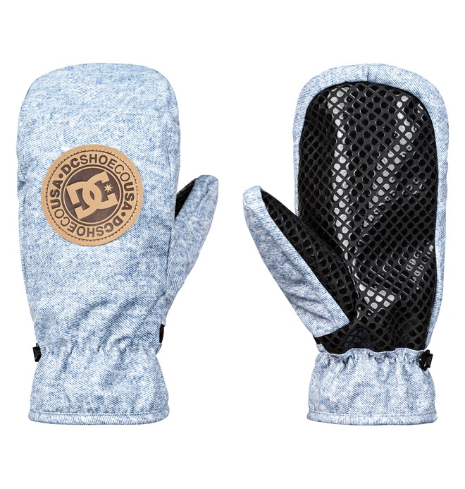 0 Shelter Snowboard/Ski Mittens Blue EDYHN03038 DC Shoes