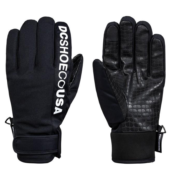 0 Deadeye Snowboard/Ski Gloves Black EDYHN03052 DC Shoes