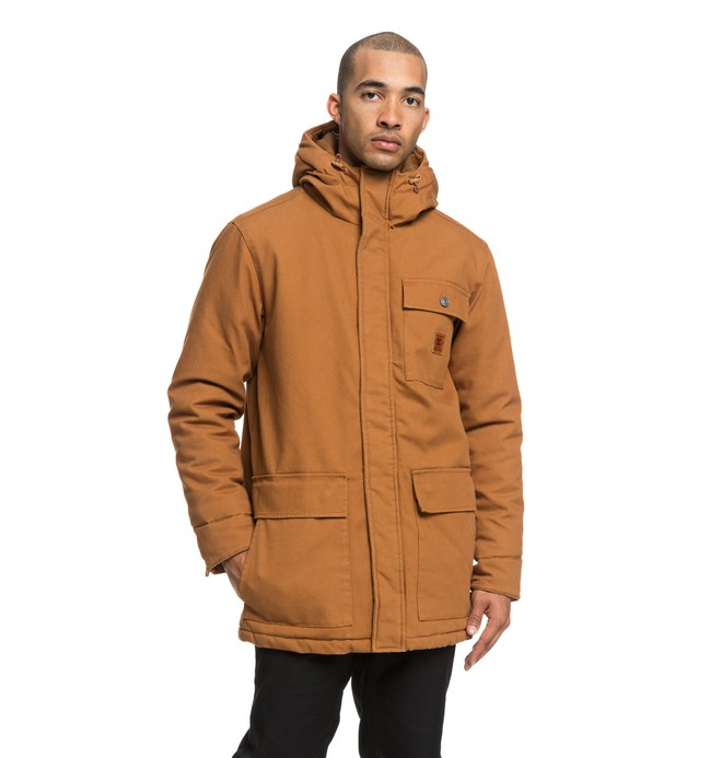 0 Canongate 2 - Parka déperlante pour Homme Orange EDYJK03173 DC Shoes