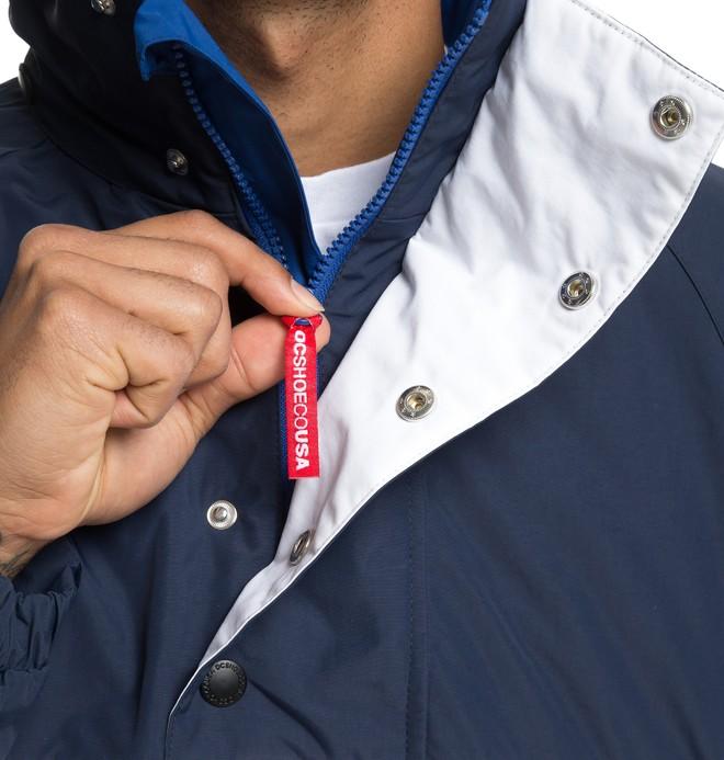Howsthat - Water-Resistant Half-Zip Windbreaker for Men  EDYJK03178