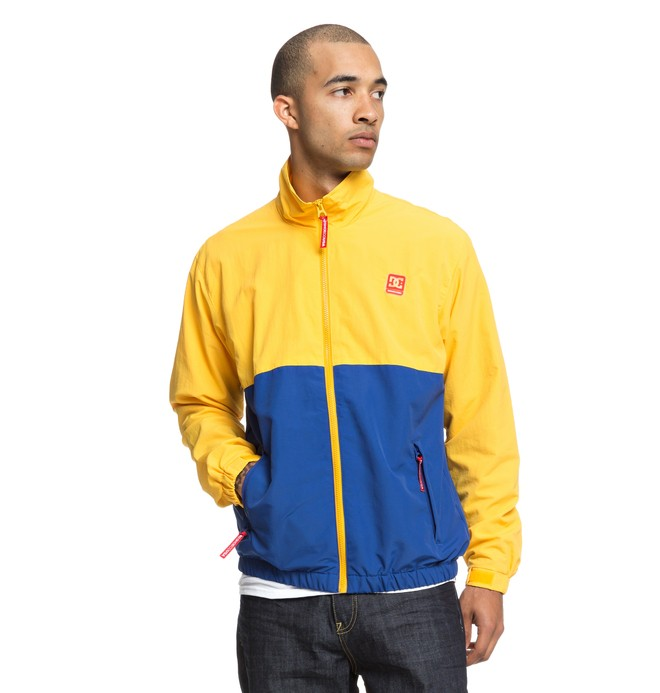 0 Denhill Water Resistant Windbreaker Yellow EDYJK03183 DC Shoes