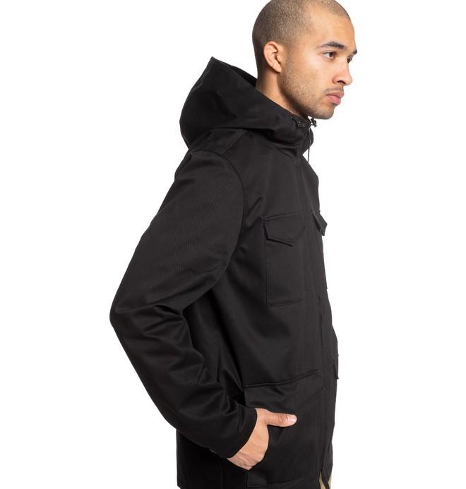 Mastaford - Water-Resistant Hooded Field Jacket  EDYJK03196