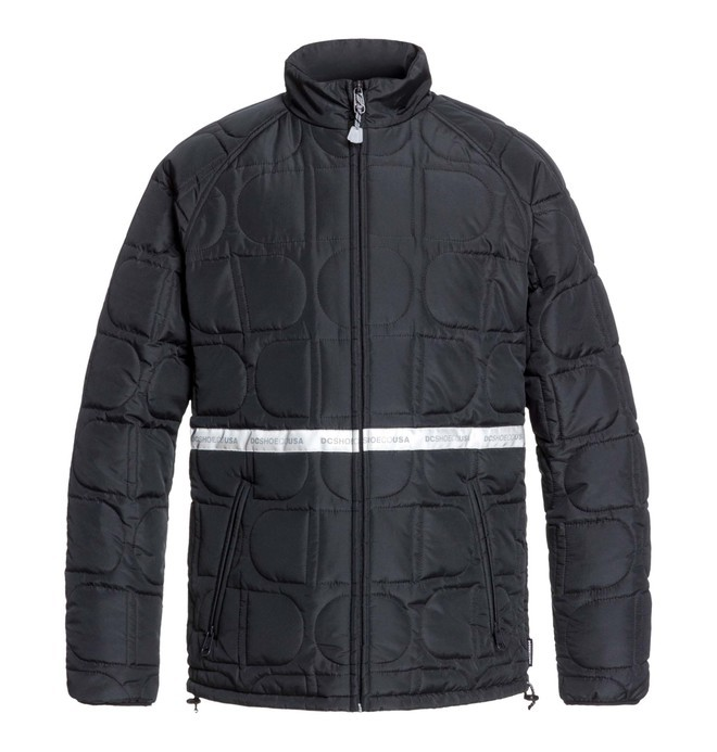 0 Anecdote - Packable Water-Resistant Insulator Jacket Black EDYJK03202 DC Shoes