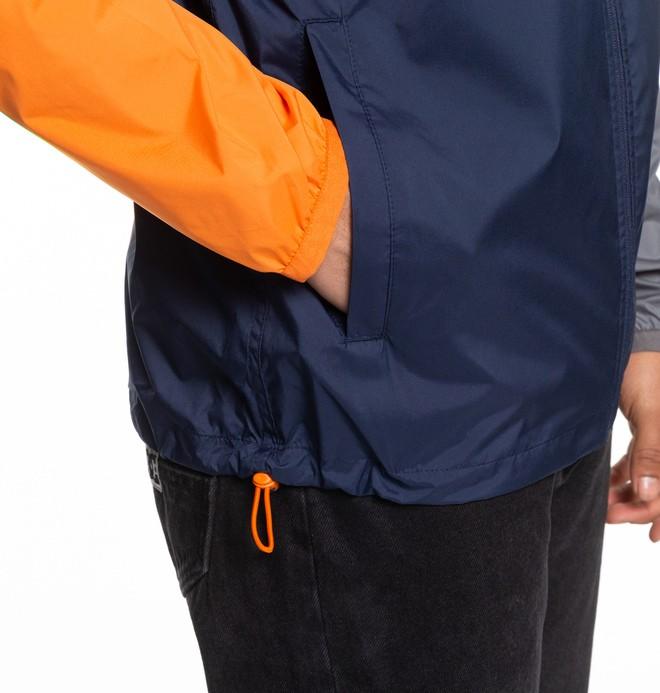 Dagup Triple Block - Water-Resistant Hooded Windbreaker for Men  EDYJK03204