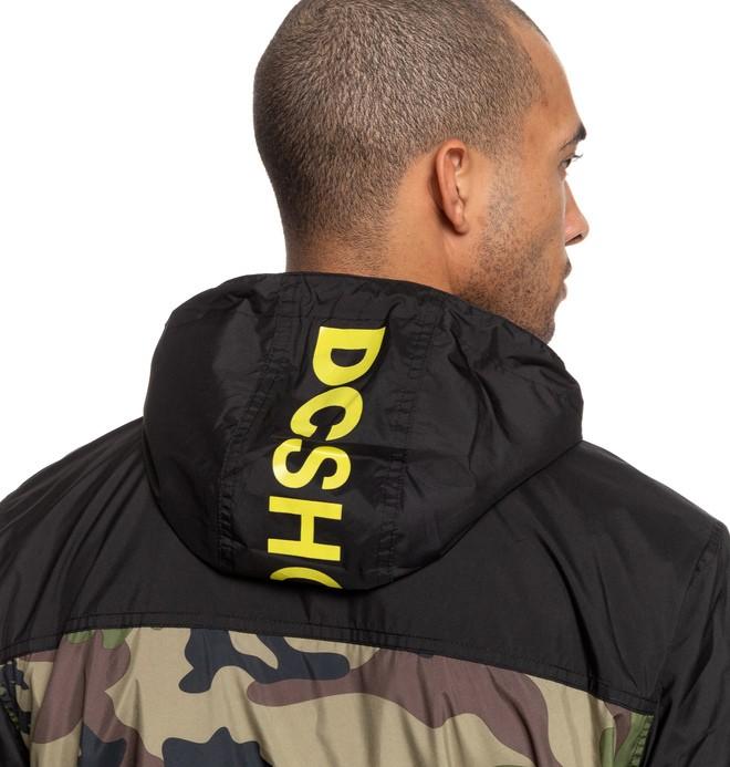 Dagup - Water-Resistant Hooded Windbreaker for Men  EDYJK03205