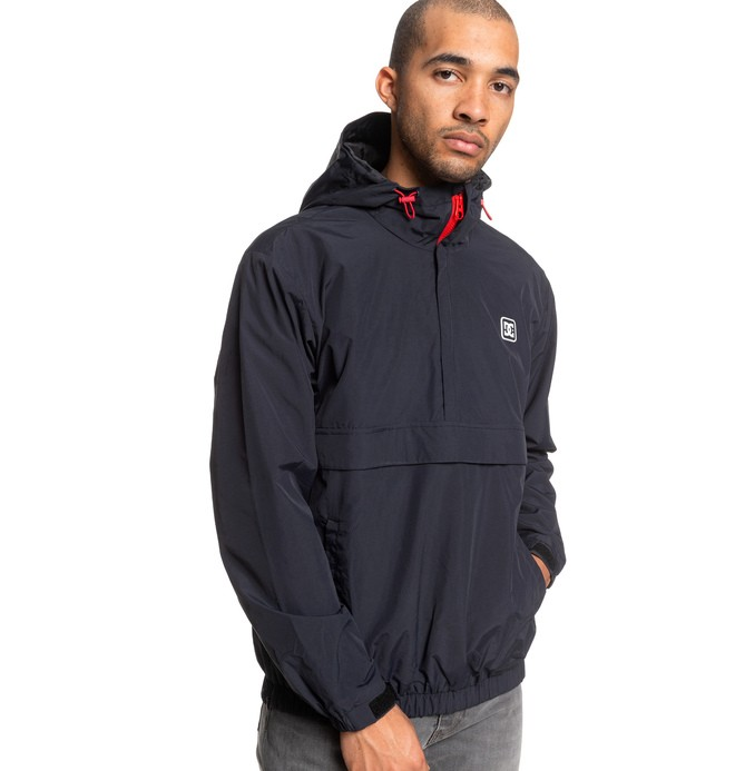 Crawhall - Half-Zip Hooded Anorak for Men  EDYJK03207