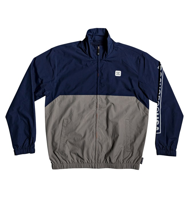 0 Ah Bon Water-Resistant Windbreaker Blue EDYJK03208 DC Shoes