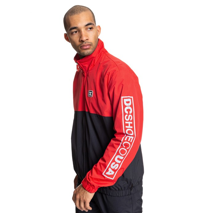0 Ah Bon Water-Resistant Windbreaker Red EDYJK03208 DC Shoes