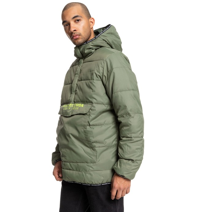 0 Coningsby - Lightweight Water-Resistant Insulator Anorak Brown EDYJK03209 DC Shoes
