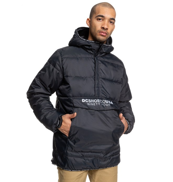 0 Coningsby - Lightweight Water-Resistant Insulator Anorak Black EDYJK03209 DC Shoes