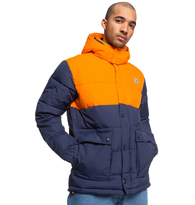 Straffen - Water-Resistant Hooded Puffer Jacket for Men  EDYJK03217