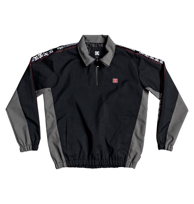 0 Astrak Packable Half-Zip Track Jacket Black EDYJK03218 DC Shoes