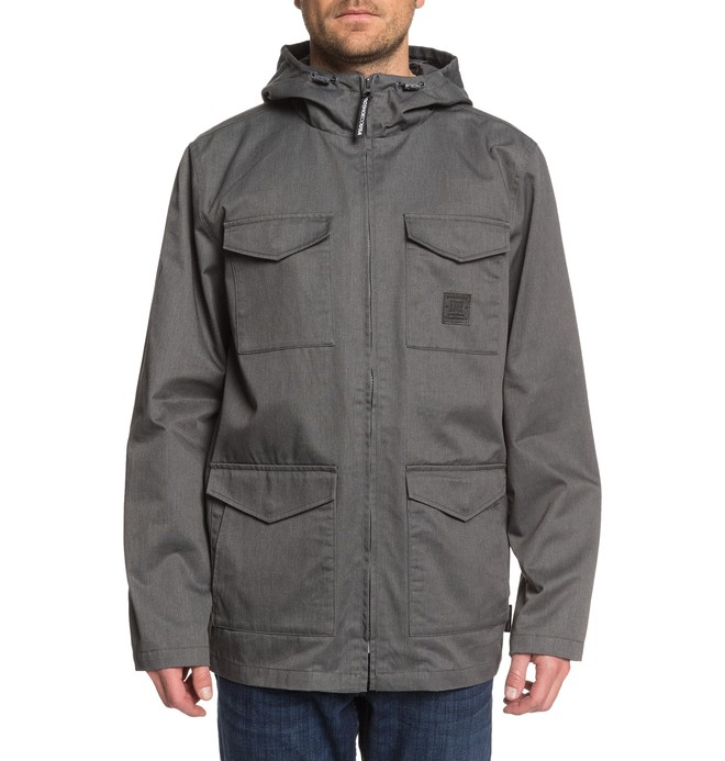 New Jacket Mastaford - Water-Resistant Hooded Field Jacket for Men  EDYJK03224