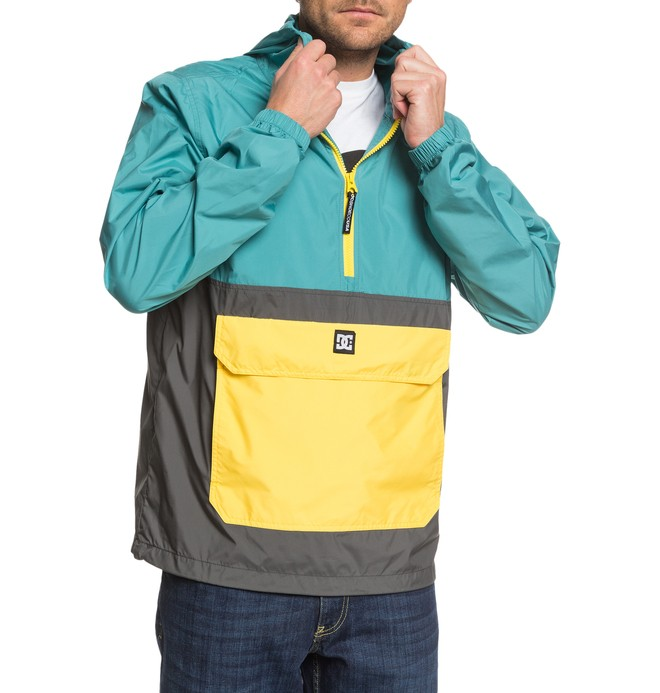 Sedgefield Packable - Water-Resistant Packable Hooded Half-Zip Anorak for Men  EDYJK03229
