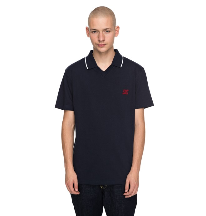 0 94 Wauteck Polo Shirt Blue EDYKT03370 DC Shoes