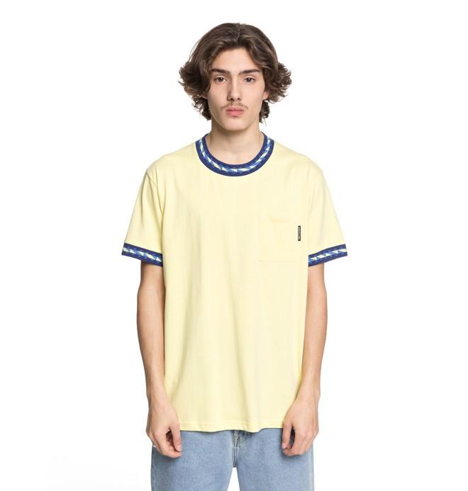 0 Dunbar - Pocket-T-Shirt für Männer Gelb EDYKT03372 DC Shoes