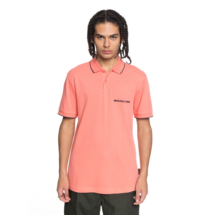 0 Lakebay - Polo Shirt for Men Pink EDYKT03374 DC Shoes