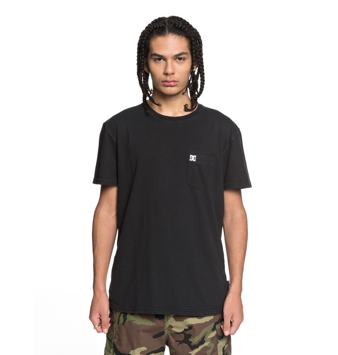 0 Dyed Tee Black EDYKT03375 DC Shoes