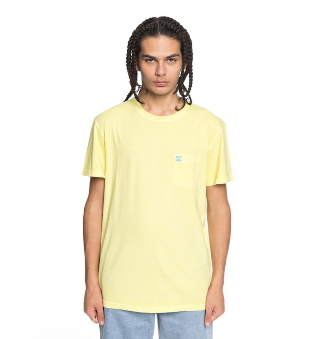 0 Dyed Tee Yellow EDYKT03375 DC Shoes