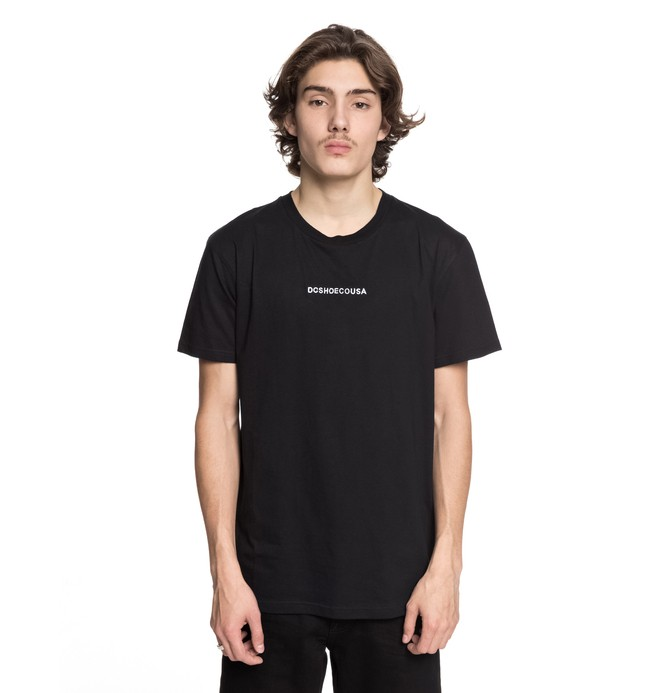 0 Craigburn Tee Black EDYKT03376 DC Shoes