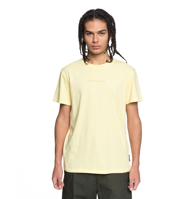 0 Craigburn Tee Yellow EDYKT03376 DC Shoes