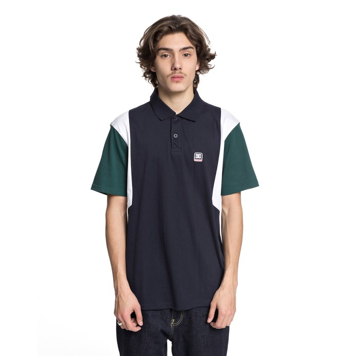 0 Fenton - Camisa Polo para Hombre Azul EDYKT03388 DC Shoes