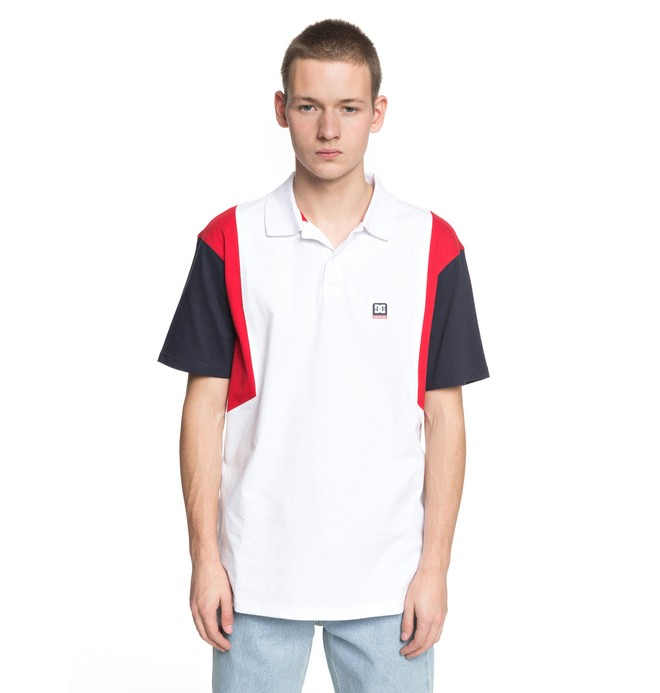0 Fenton - Polo Shirt for Men White EDYKT03388 DC Shoes