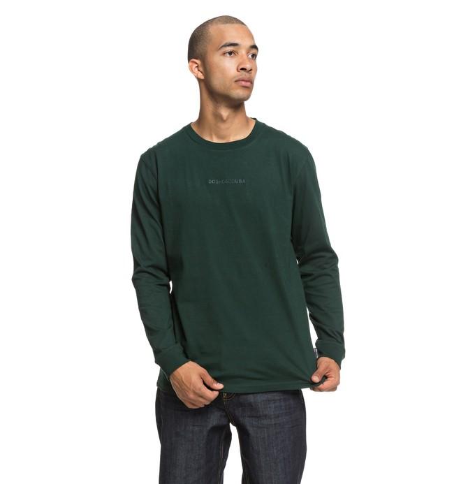 0 Craigburn - Longsleeve T-Shirt voor Heren Green EDYKT03412 DC Shoes