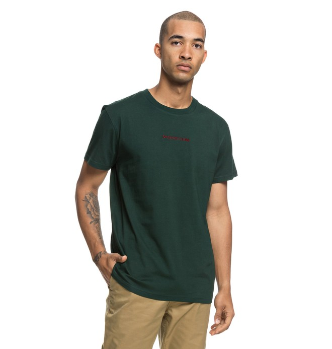 0 Craigburn - T-shirt col rond pour Homme Vert EDYKT03413 DC Shoes